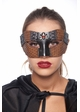 Steampunk Cowgirl Masquerade Mask inset 2