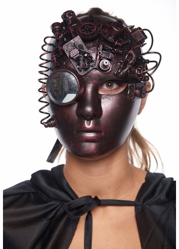 Steampunk Creepy Doll Mask