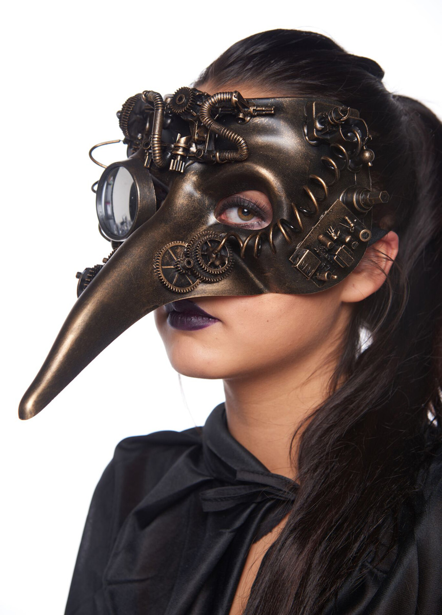 Steampunk Mr Beaky Masquerade Mask