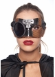 Steampunk Sweetheart Masquerade Mask inset 3