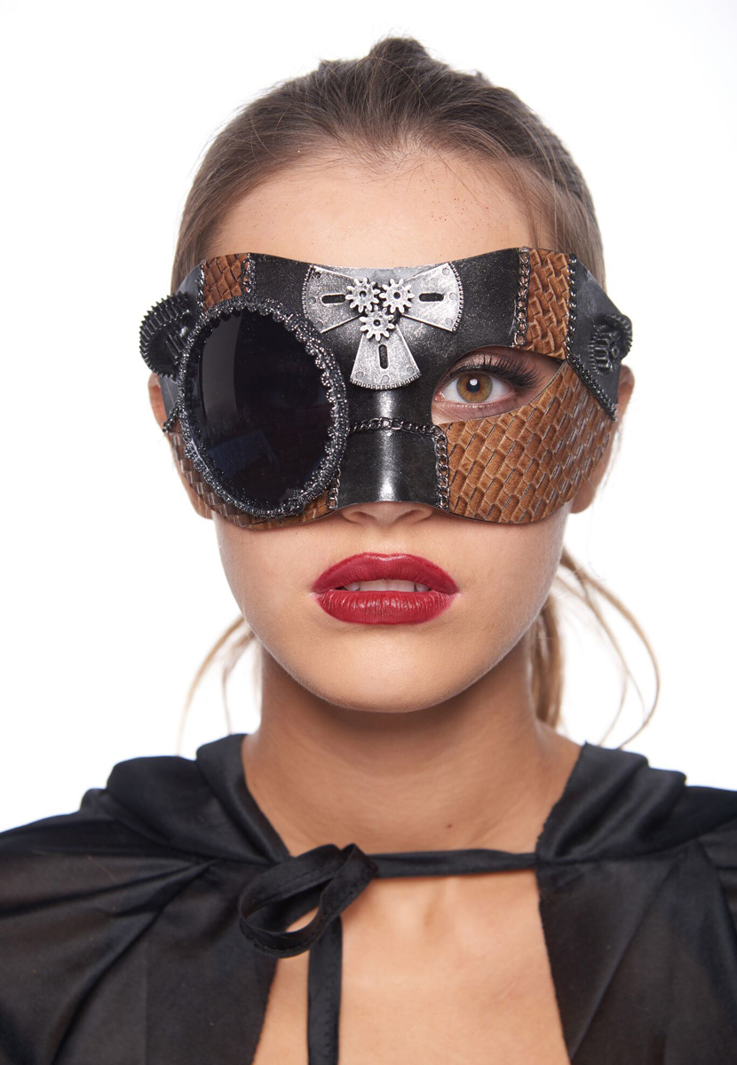Steampunk Sweetheart Masquerade Mask