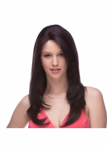 Straight and Long Lace Front Human Hair Wig Helena