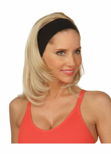 Straight Hair 3/4 Wig Mildred with Headband