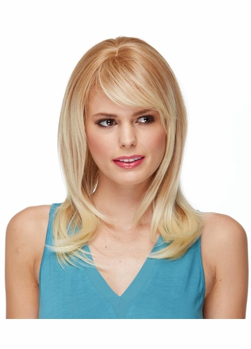 Straight Layered Heat Safe Wig with Larger Cap Romantic