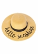 Summer Straw Hat with Logo by CC Brand inset 3