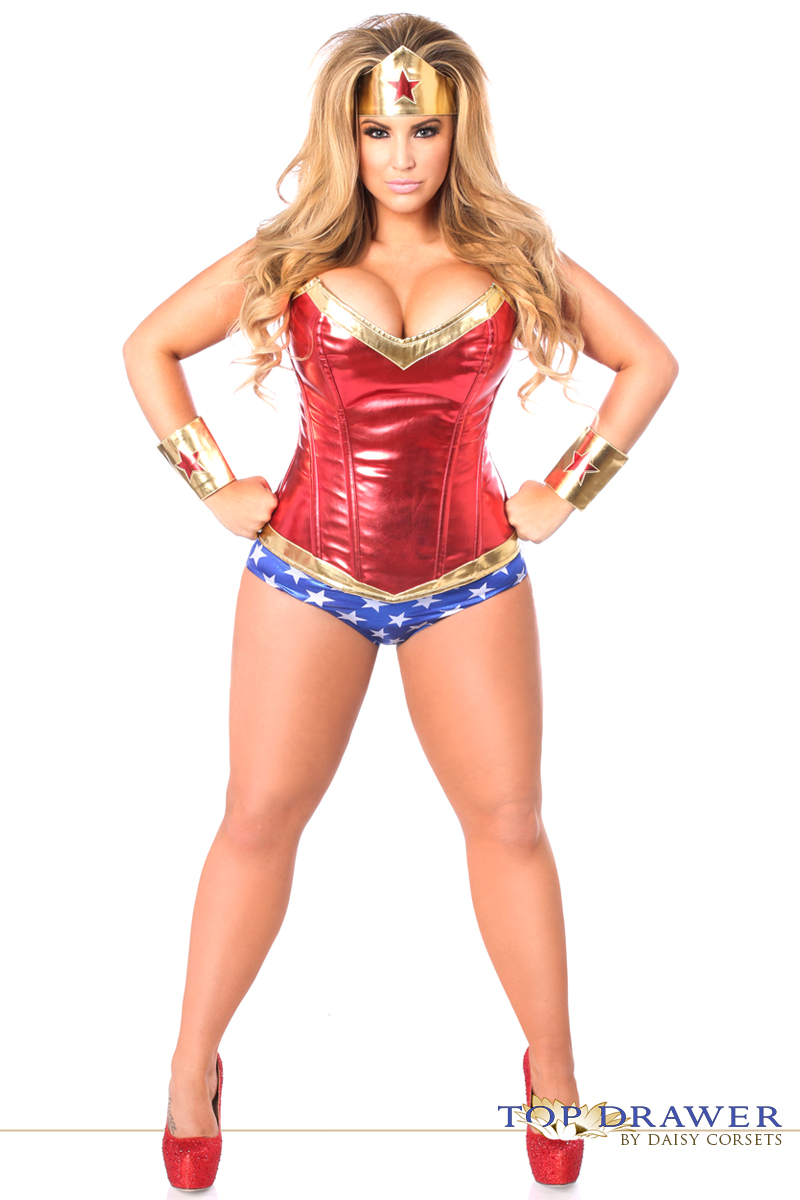 superhero corset halloween costume - Corsets Halloween Costumes
