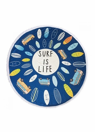 Surf is Life Beach Blanket