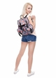 Sushi Print Canvas Backpack by Zohra inset 3