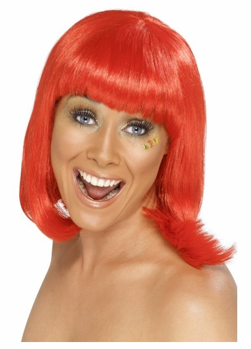 Swedish Gogo Dancer Red Wig