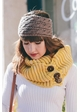 Sweet Cable Knit Headband inset 4