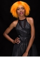 Tangerine Textured Above the Shoulders Wig Zoey inset 1