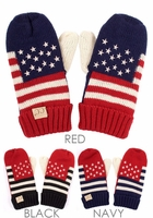 Team US Kids Size Mitten Gloves