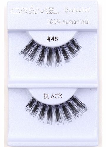 Thickly Textured Wispy Lashes