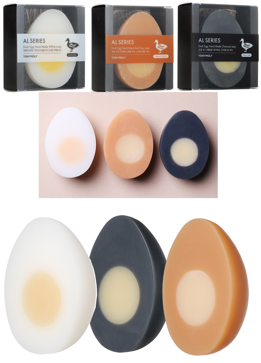 Tonymoly Duck Egg Skin Soap