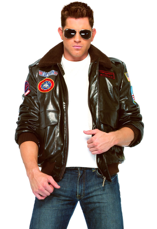Top Gun Men S Quot Maverick Quot Bomber Jacket
