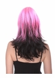Two Color Wig in Pink and Black inset 1