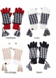 Two-Piece Houndstooth CC Gloves inset 2