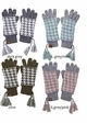 Two-Piece Houndstooth CC Gloves inset 3