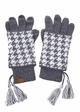 Two-Piece Houndstooth CC Gloves inset 4