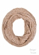 Two Tone Chunky Infinity Scarf by CC Brand inset 3
