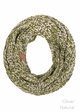 Two Tone Chunky Infinity Scarf by CC Brand inset 4