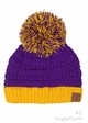 Two Tone College Color CC Beanie Hat inset 2