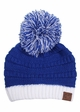Two Tone College Color CC Beanie Hat inset 3