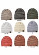 Two Tone Knit CC Beanie Hat inset 2