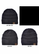 Two Tone Knit CC Beanie Hat inset 3