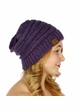 Two Tone Knit CC Beanie Hat inset 4