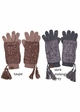 VERY LIMITED Two Tone Knitted CC Gloves inset 4