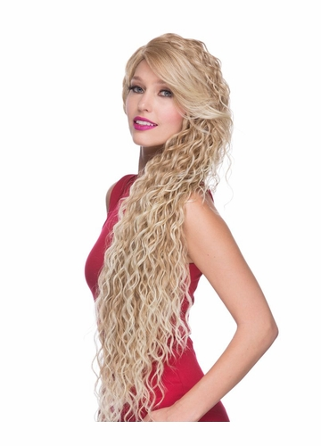 Ultra Long Beach Curl Lace Front Wig Symphony