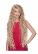 Ultra Long Beach Curl Lace Front Wig Symphony inset 1