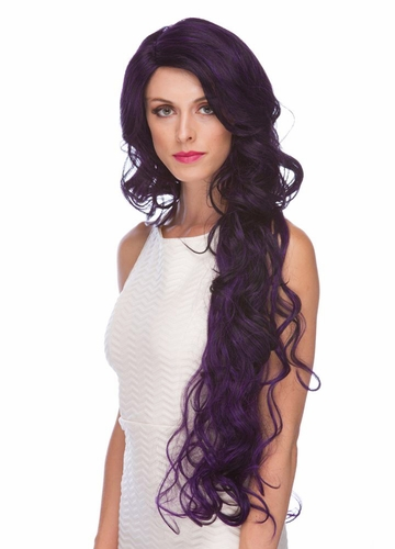Ultra Long Wavy Lace Front Wig Primrose