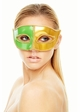 Venetian Mask with Gold Trim inset 2