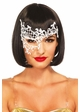 Venice Lace Asymmetric Masquerade Mask inset 1