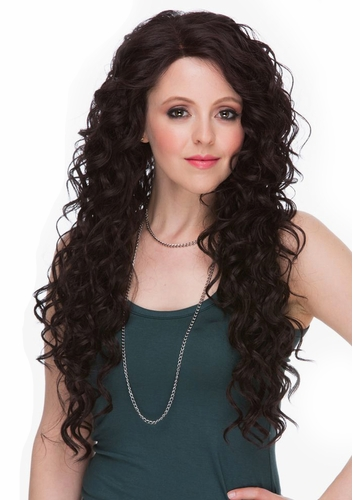 Very Long Curly Lace Front Wig Lacy
