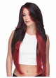 Very Long Graduated Cut Lace Front Wig Prudence inset 1