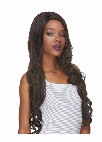 Very Long Lace Front Wig with Curls Jezebel