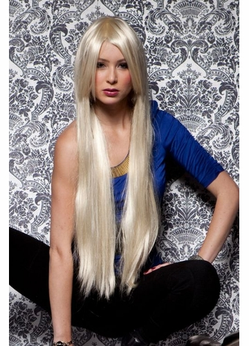 Waist Long Wig Fate in California Blonde Color