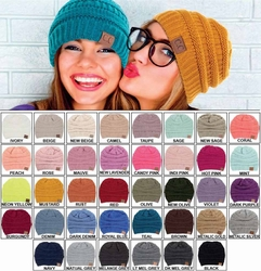 8a8409ef7407ed Solid Color Groove Knit Beanie Hats by CC Brand $10.00