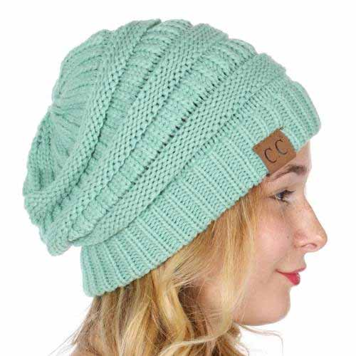 ... Solid Color Groove Knit Beanie Hats by CC Brand inset 4 ac035abff47