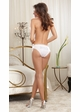White Bride Panty with Rhinestone Bride and  Ruffle Trim inset 1