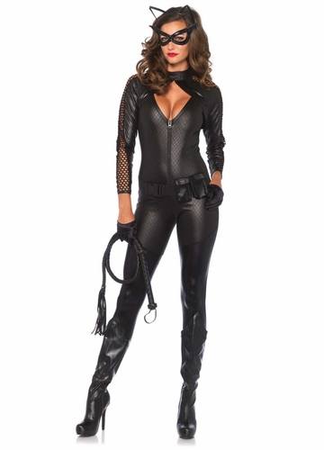 Wicked Kitty Catsuit Halloween Costume