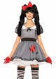 Wind-Me-Up Dolly Creepy Doll Costume from Leg Avenue inset 1