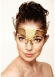 Wings of Love Masquerade Mask with Crystals inset 3