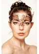 Wings of Love Masquerade Mask with Crystals inset 4