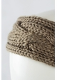 Winter Cable Knit Headband inset 2