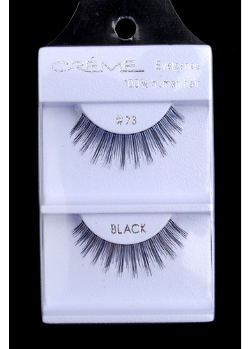 Wispy Texturised Human Hair Lashes