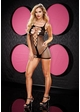 Zig Zag Net Fishnet Dress inset 1